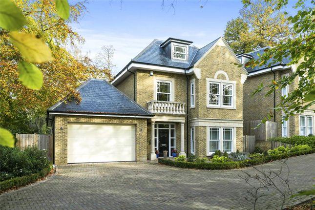 Thumbnail Detached house for sale in Sandy Lane, Cobham, Surrey