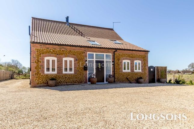 Thumbnail Detached house for sale in Chequers Road, Grimston