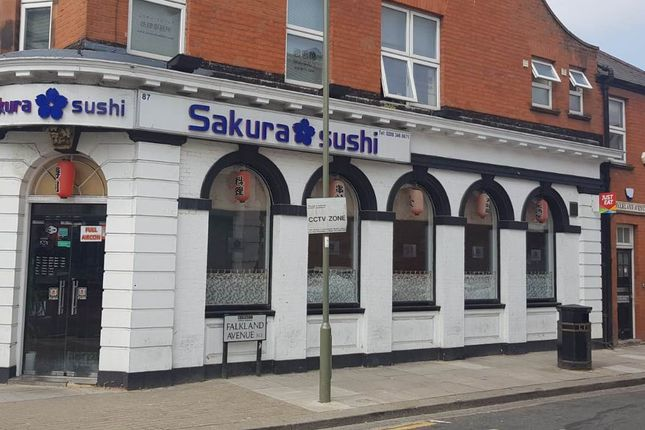 Thumbnail Restaurant/cafe for sale in 87 Ballards Lane, London