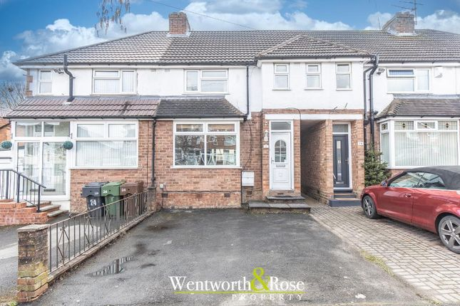 3 bed terraced house for sale in Barrington Road, Rubery, Birmingham, West Midlands B45