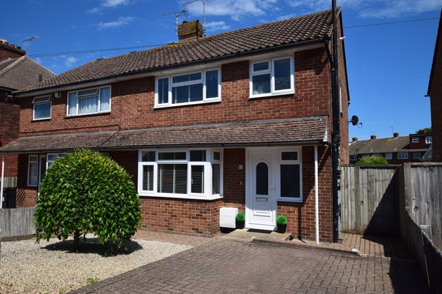 3 bed semi-detached house for sale in Percival Road, Eastbourne