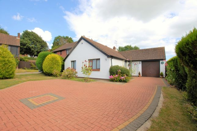 Thumbnail Bungalow for sale in Britten Close, Hythe