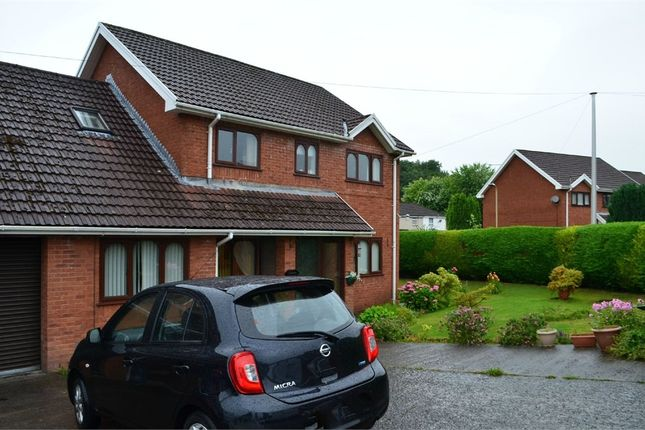 Thumbnail Semi-detached house for sale in Georgetown Villas, Georgetown, Merthyr Tydfil, Mid Glamorgan