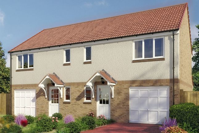 """Thumbnail Semi-detached house for sale in """"The Newton"""" at Stable Gardens, Galashiels"""