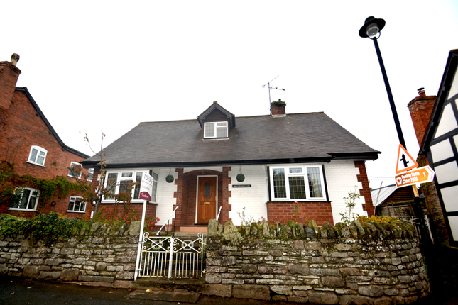 Thumbnail Detached bungalow for sale in Walcote Bungalow, High Street, Pembridge, Herefordshire.