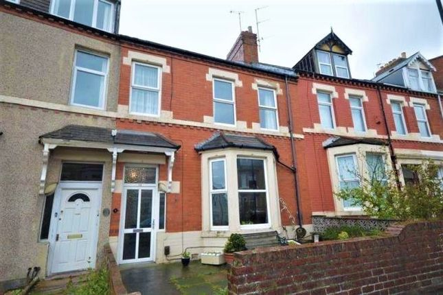 Thumbnail Terraced house for sale in North Parade, Whitley Bay, Tyne And Wear