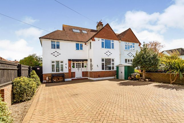 Thumbnail Semi-detached house for sale in Beeches Avenue, Broadwater, Worthing