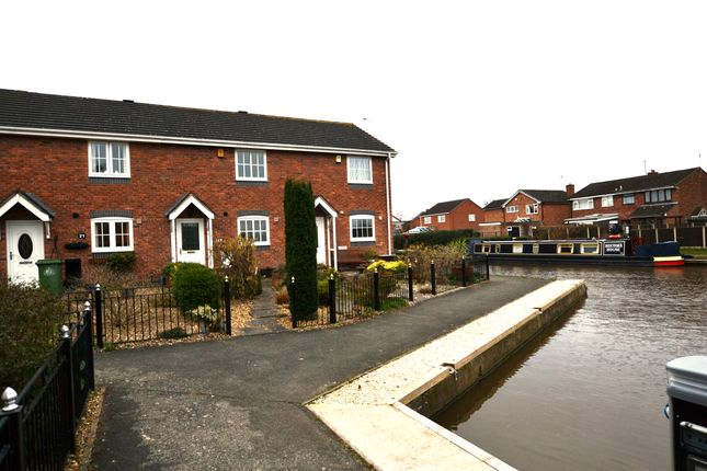 2 bed terraced house to rent in Waterside Drive, Market Drayton