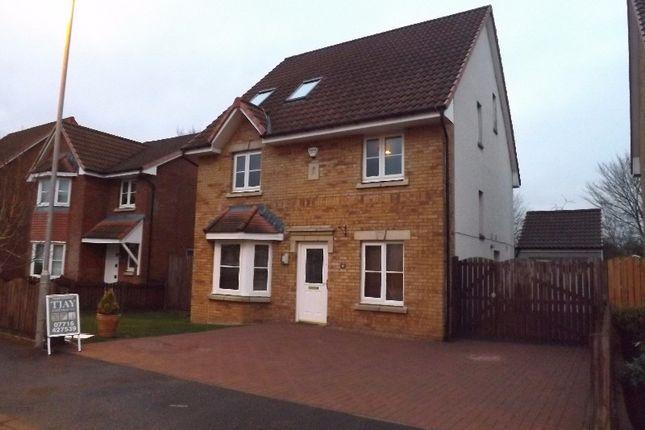 Thumbnail Detached house for sale in Dunnock Place, Coatbridge, North Lanarkshire