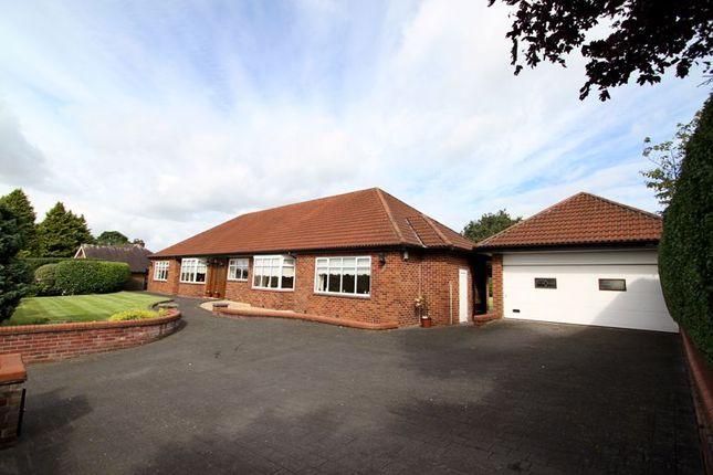 Thumbnail Detached bungalow for sale in Dicconson Lane, Westhoughton, Bolton, Lancashire.
