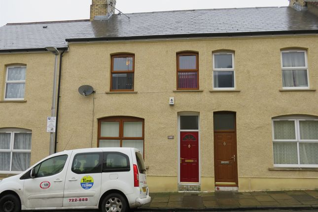 Thumbnail Terraced house for sale in Cross Street, Barry
