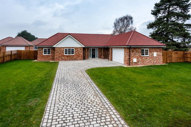 Thumbnail Detached bungalow for sale in New Bungalows, Tower Drive, Woodhall Spa