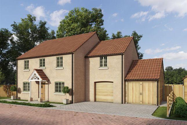 Thumbnail Detached house for sale in Rectory Lea, Fillingham, Gainsborough