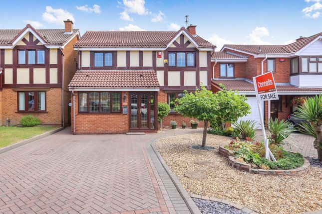 Thumbnail Detached house for sale in Lochalsh Grove, Willenhall