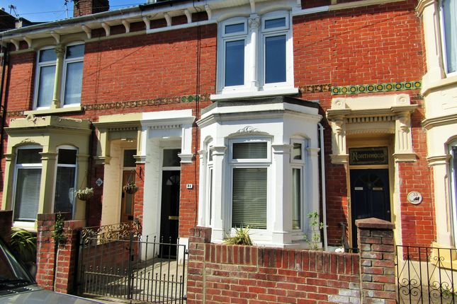 Thumbnail Terraced house to rent in Beaulieu Road, Portsmouth, Hampshire