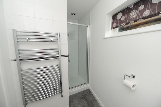 Shower Room of Mendip Crescent, Ashgate, Chesterfield S40
