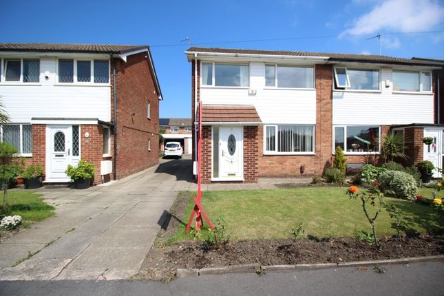 Thumbnail Semi-detached house to rent in Trinity Crescent, Worsley, Manchester