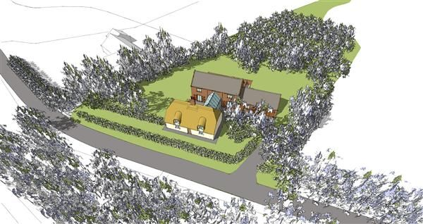 Thumbnail Land for sale in Valley Cottage, The Avenue, East Ravendale, Near Grimsby