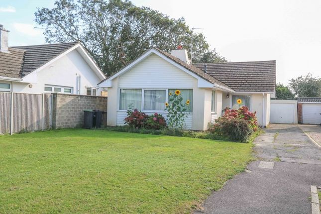 Thumbnail Detached bungalow for sale in Warren Close, Hayling Island