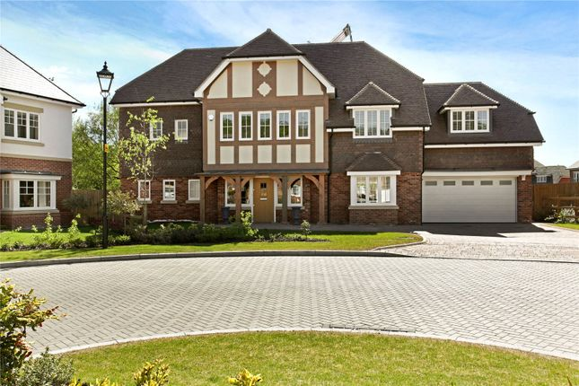 Thumbnail Detached house for sale in Montague Park, Winkfield, Windsor, Berkshire