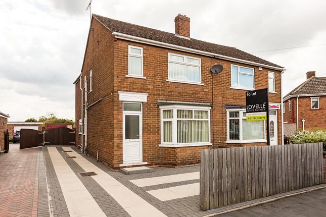 Thumbnail Semi-detached house to rent in Marsden Drive, Scunthorpe