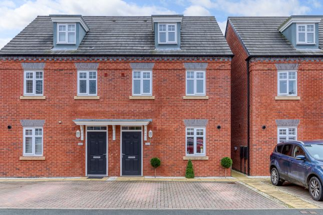 3 bed semi-detached house for sale in Harris Close, Greenlands, Redditch B98