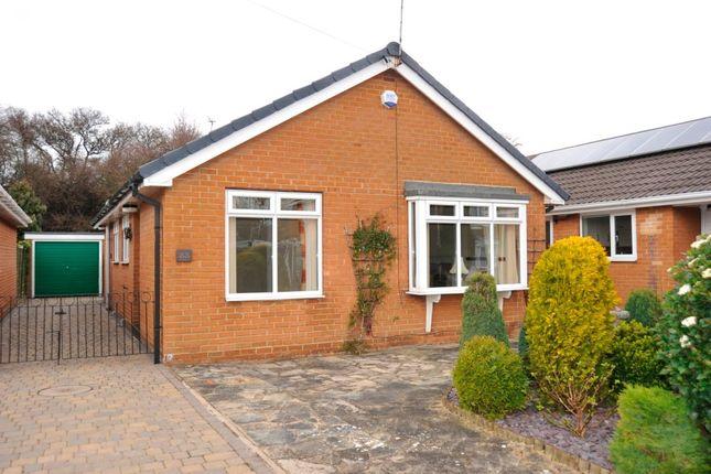 Thumbnail Detached bungalow to rent in Bilsdale Grove, Knaresborough