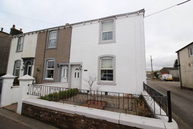 Thumbnail End terrace house for sale in Arkleby Road, Aspatria, Wigton