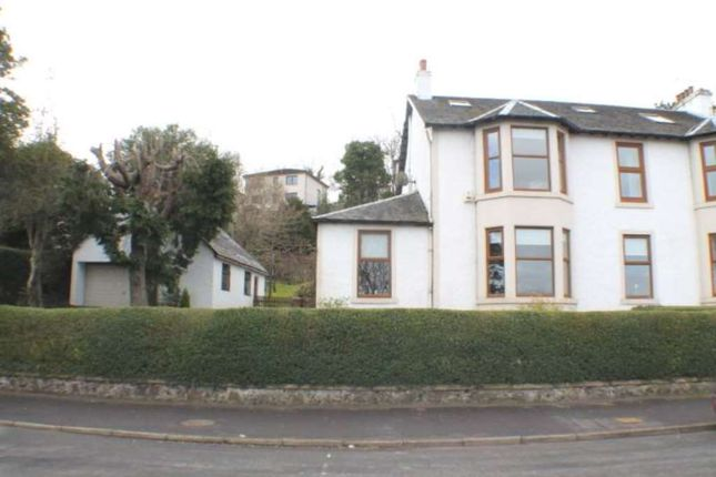 Thumbnail Semi-detached house for sale in Main Road, Langbank, Port Glasgow
