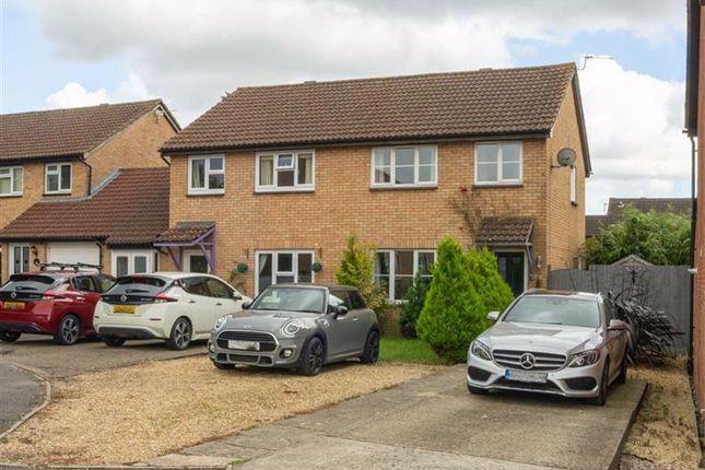 Thumbnail Semi-detached house for sale in Fitzwarren Close, Chippenham, Wiltshire