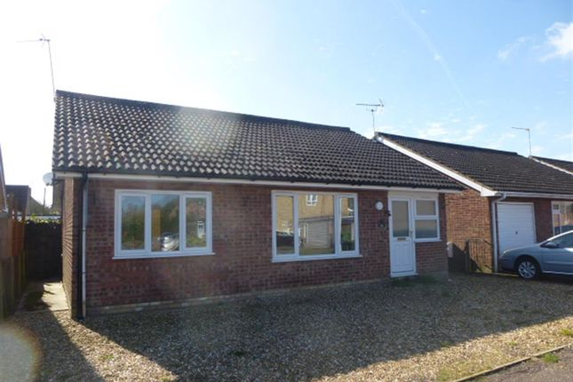 Thumbnail Detached bungalow for sale in The Lammas, Mundford, Thetford