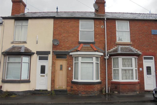Thumbnail Terraced house to rent in Poplar Road, Kidderminster