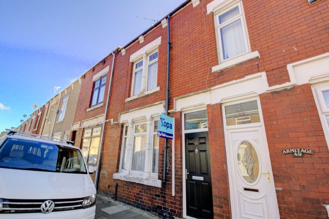 Front of Colenso Street, Hartlepool TS26