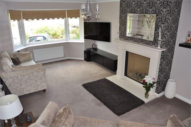 Lounge of Ovington View, Prudhoe, Northumberland. NE42