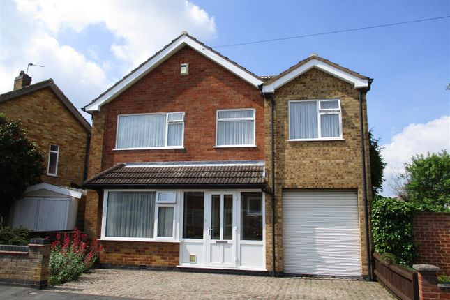 Thumbnail Detached house for sale in Waverley Road, Blaby, Leicester