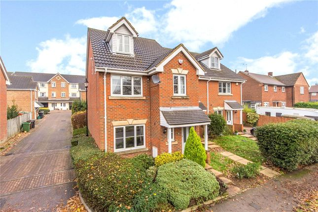 Thumbnail Semi-detached house to rent in Holyrood Crescent, St. Albans, Hertfordshire