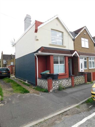 Thumbnail End terrace house to rent in Burnaby Road, Northfleet, Gravesend