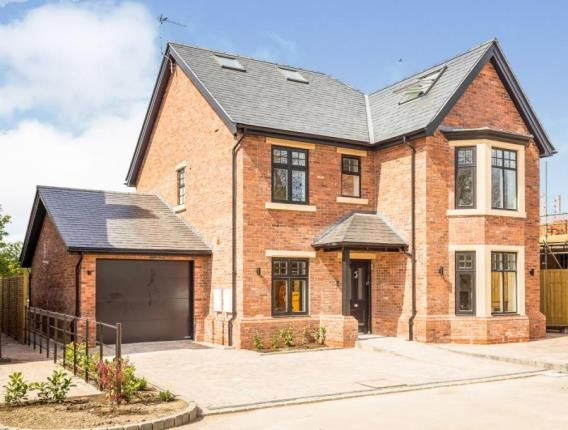 Thumbnail Detached house for sale in The Orchard, Wrexham Road, Chester