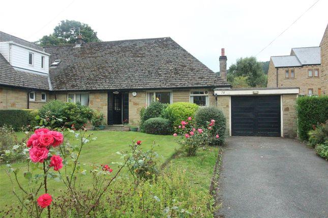 Thumbnail Semi-detached bungalow for sale in Caldene Avenue, Mytholmroyd, Hebden Bridge