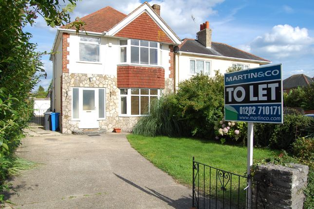 Thumbnail Detached house to rent in Wimborne Road, Poole