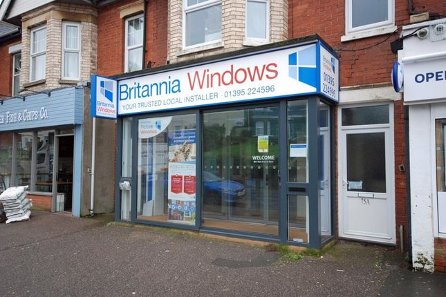 Thumbnail Commercial property for sale in Exeter Road, Exmouth, Devon