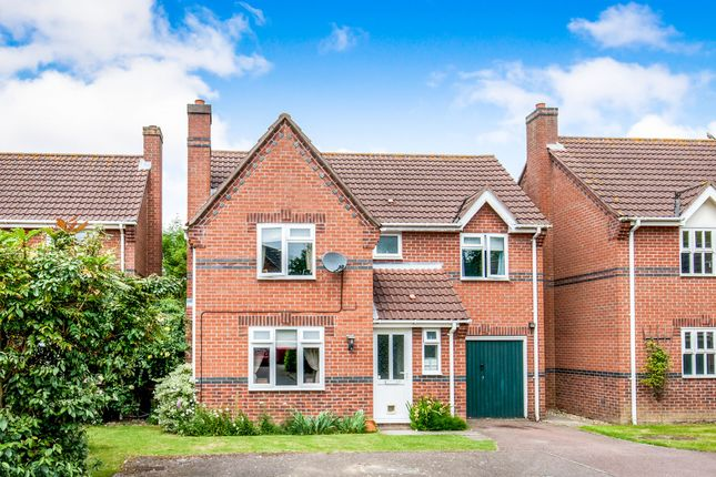 Thumbnail Detached house for sale in Potters Crescent, Great Moulton, Norwich