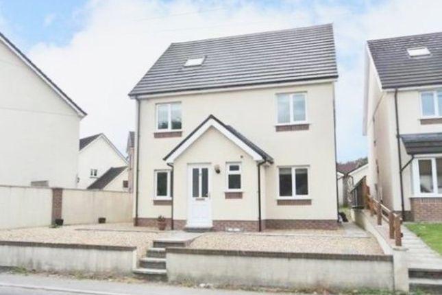 Thumbnail Detached house for sale in Heol Y Plas, Cross Hands Food Park, Cross Hands, Llanelli
