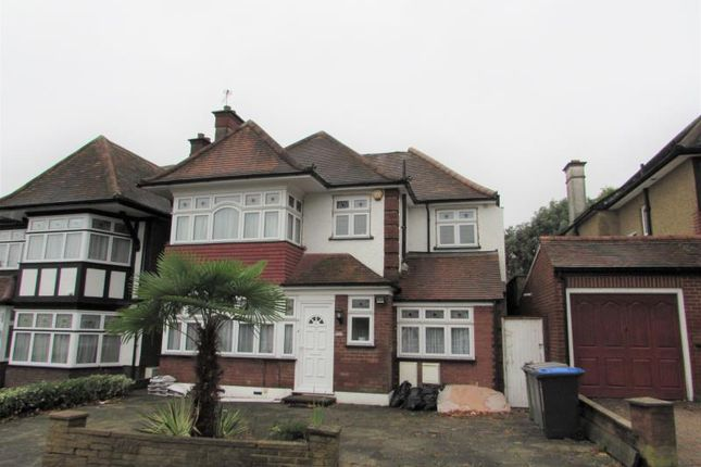 Thumbnail Detached house to rent in Briar Road, Kenton, Middlesex