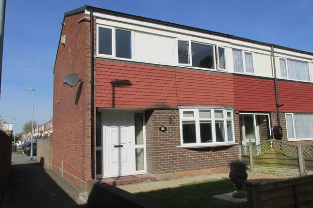 Thumbnail End terrace house to rent in Derwent, Tamworth