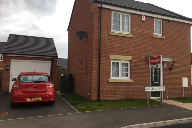 Thumbnail Semi-detached house to rent in Cordelia Drive, Birstall, Leicester