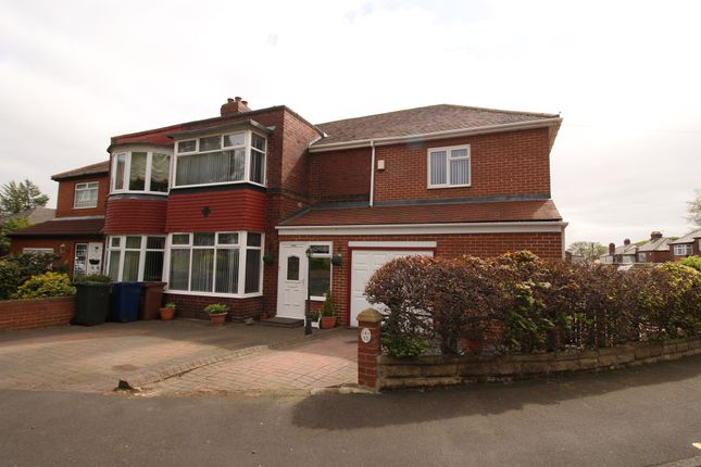 Thumbnail Semi-detached house for sale in Denhill Park, Benwell, Newcastle Upon Tyne