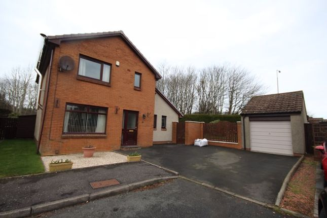 Thumbnail Detached house for sale in Gavin Place, Livingston