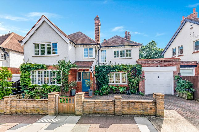 Thumbnail Detached house for sale in Burney Avenue, Surbiton