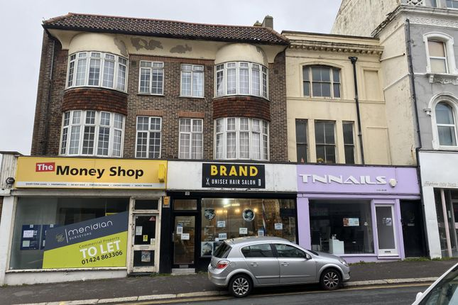 Thumbnail Retail premises for sale in Queens Road, Hastings
